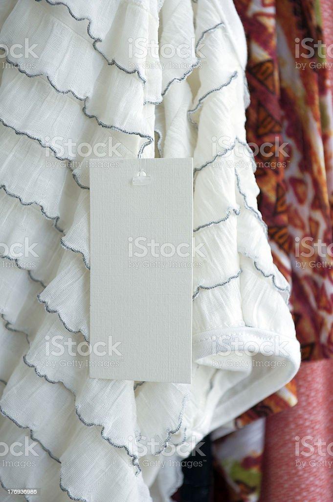 Clothing label royalty-free stock photo