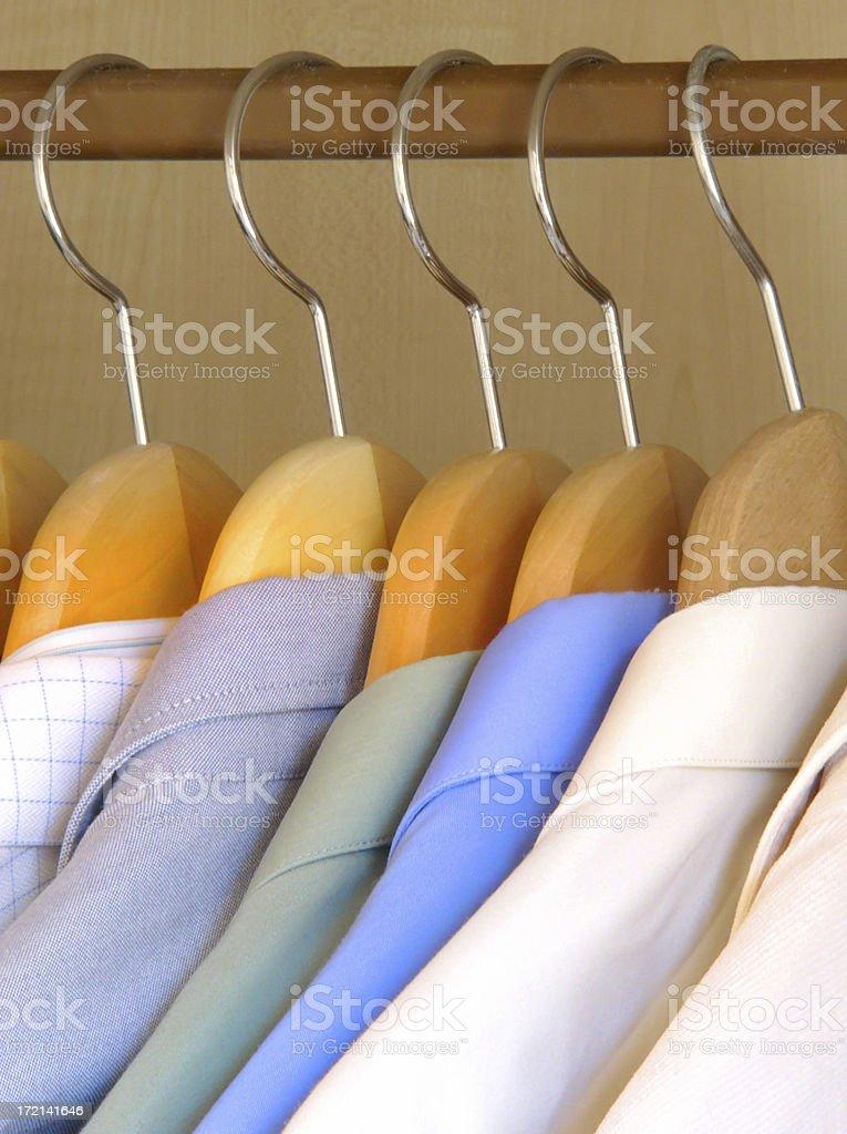 Clothing. Shirts 2 royalty-free stock photo