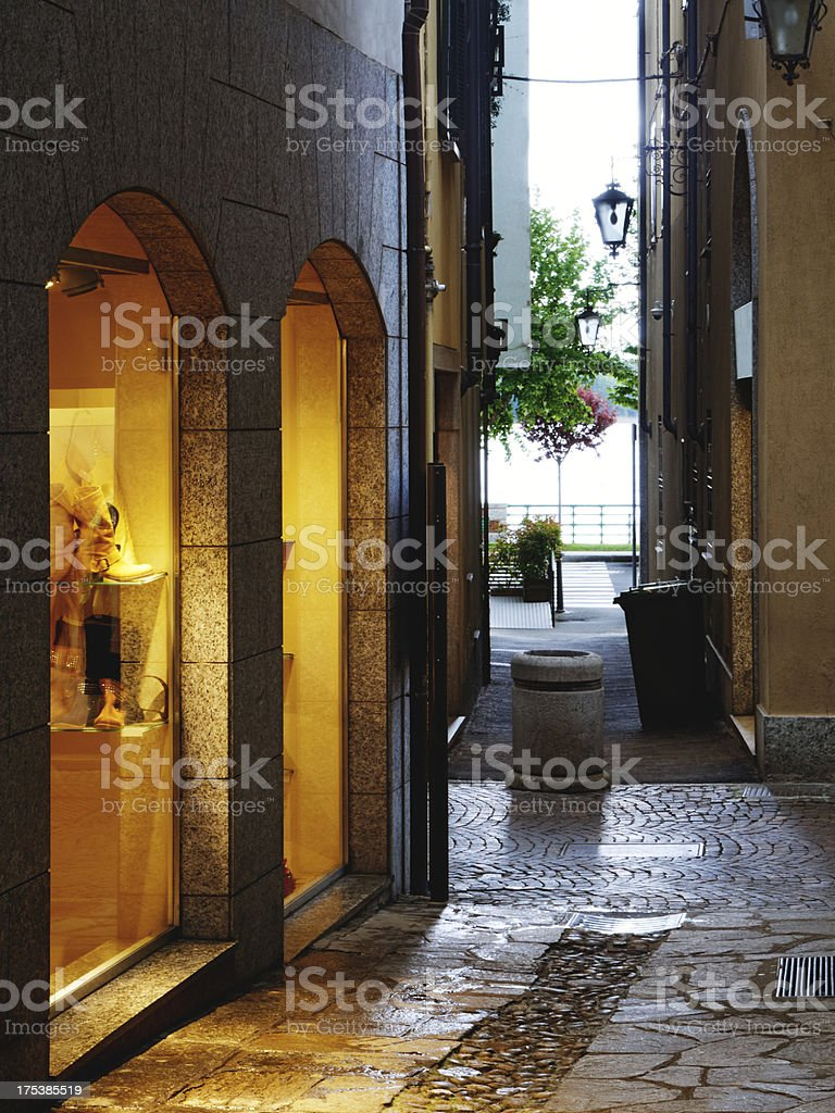 Clothing store. Color Image royalty-free stock photo