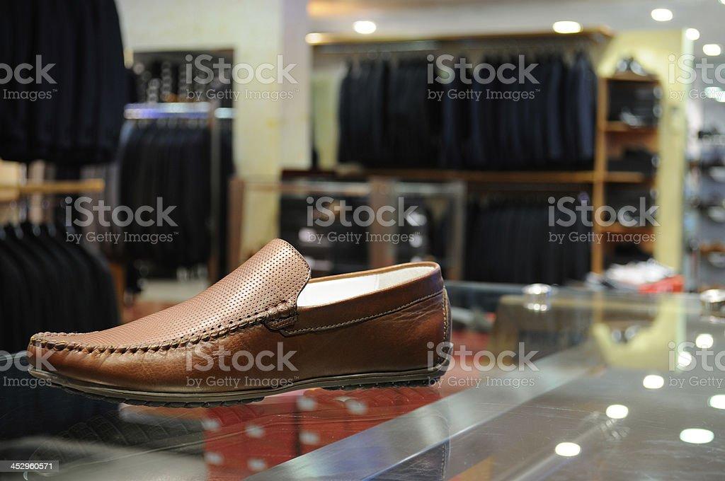 Clothing store. royalty-free stock photo