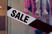 Clothing store - SALE - black friday