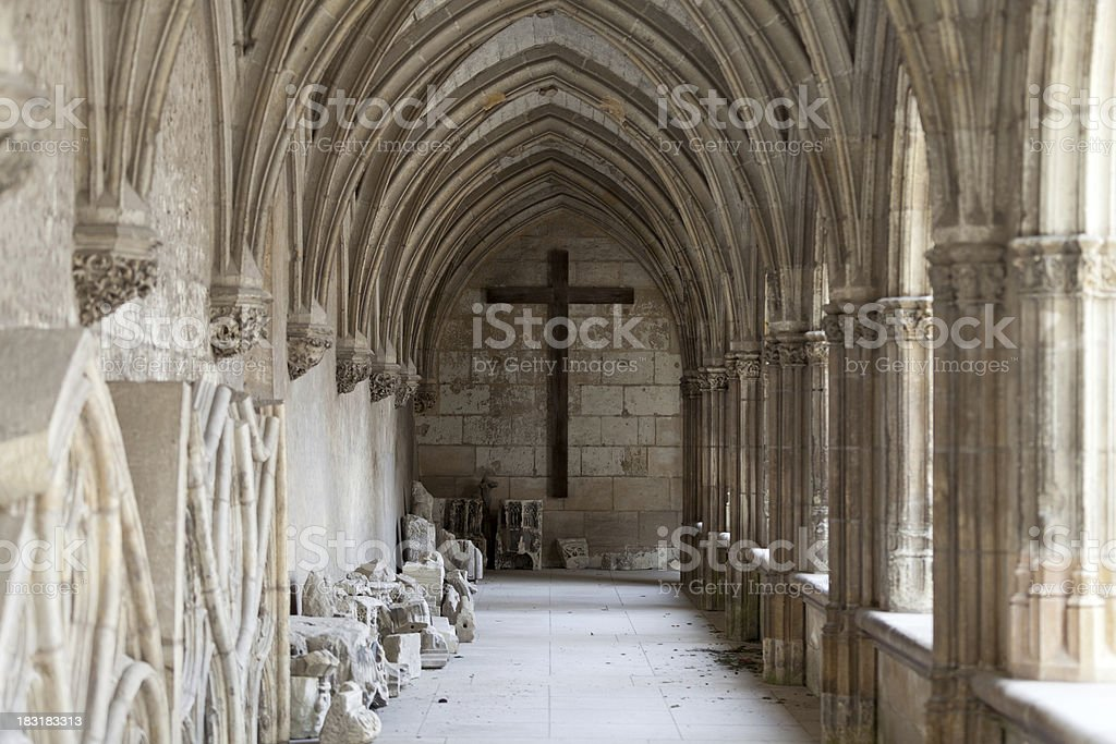 Clo?tre de La Psalette -   Saint Gatien Cathedral ,  Tours stock photo