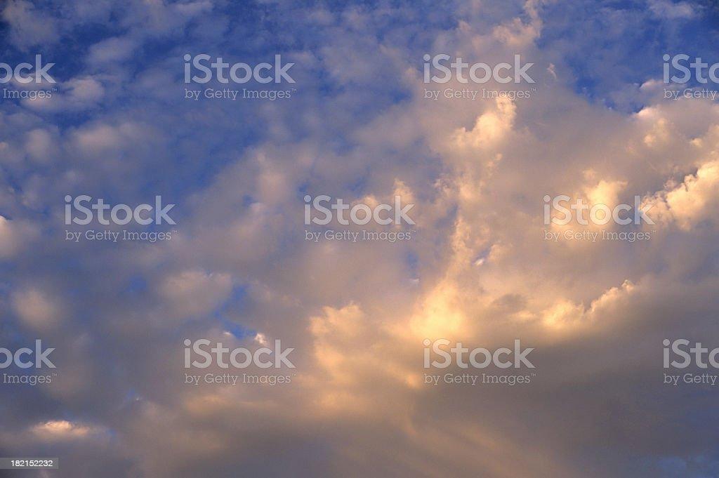 Cloud 9 royalty-free stock photo