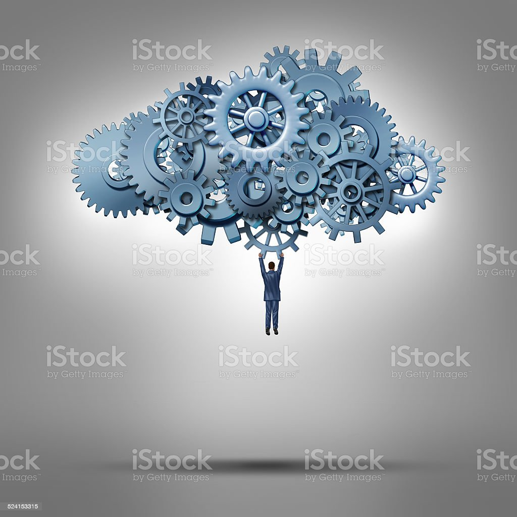 Cloud Access stock photo