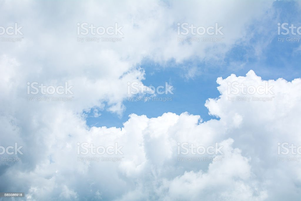 Cloud and Cloud stock photo