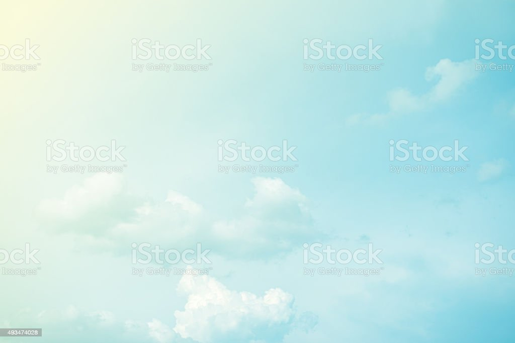 cloud and sky abstract background stock photo