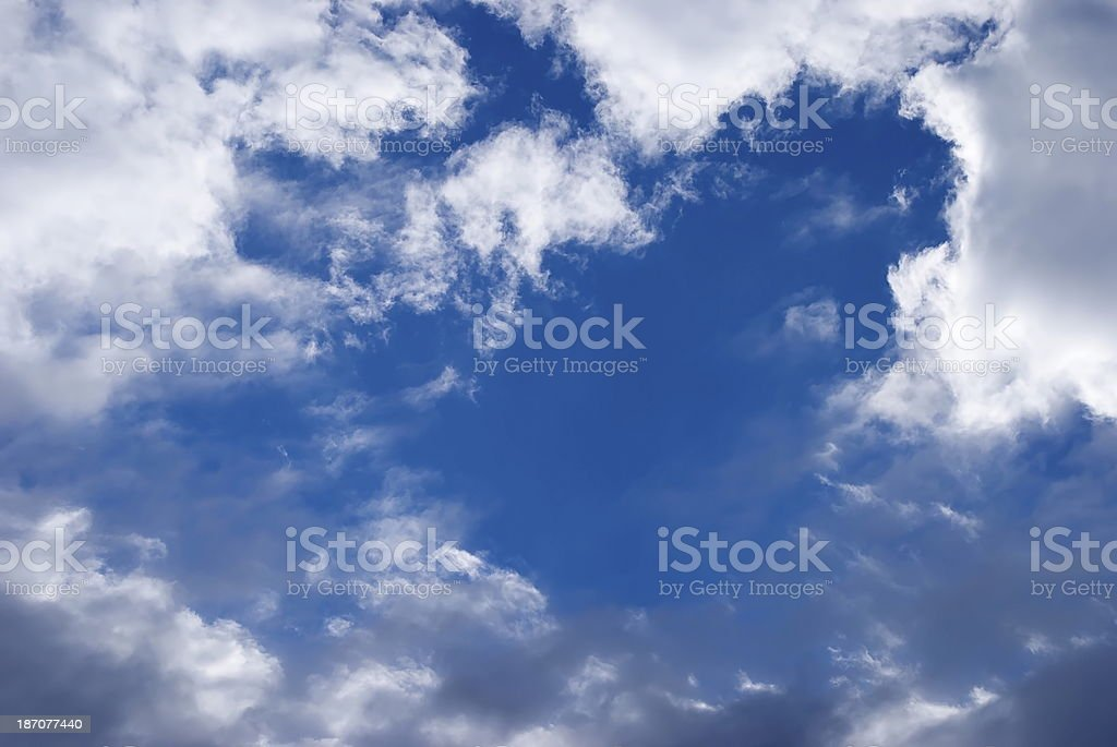 Cloud and Sky Background royalty-free stock photo