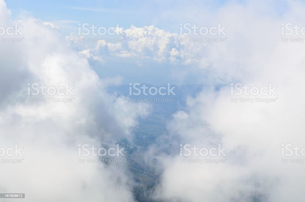 Cloud and sky. royalty-free stock photo