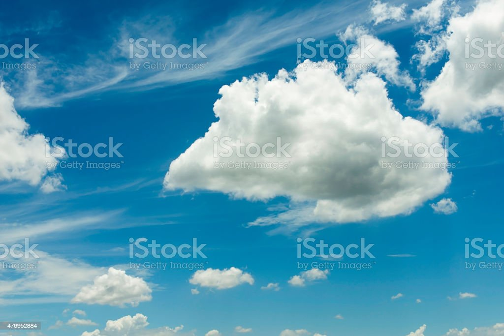 Cloud and Sky royalty-free stock photo