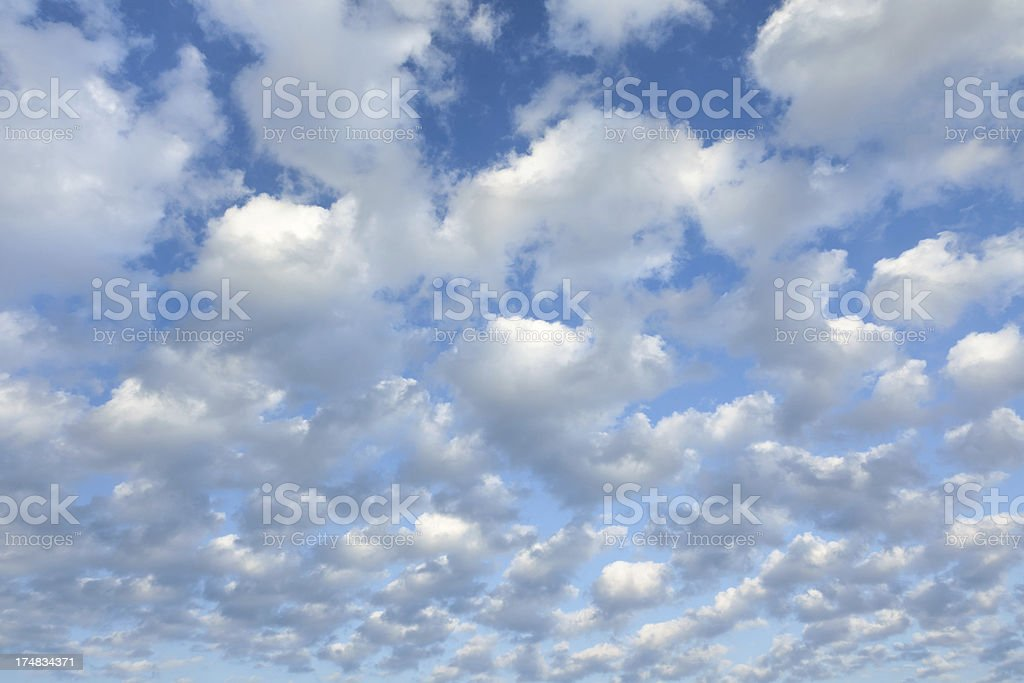 Cloud Background royalty-free stock photo