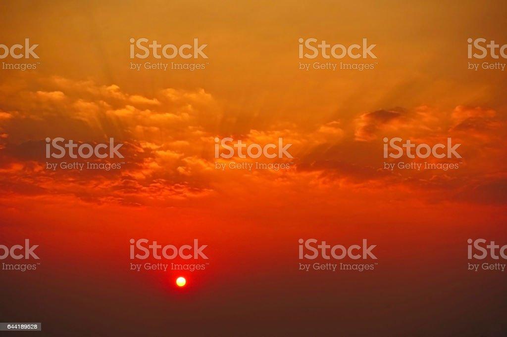 Cloud beautiful sky beautiful sunset nature summer outdoor stock photo