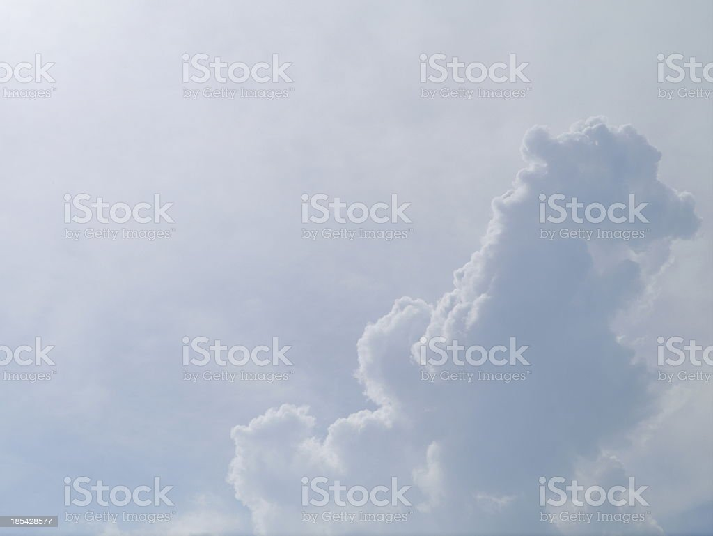Cloud blue sky . royalty-free stock photo