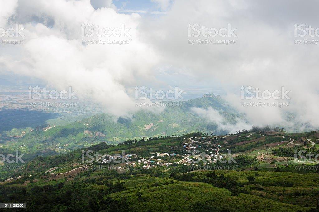 Облако Город Стоковые фото Стоковая фотография