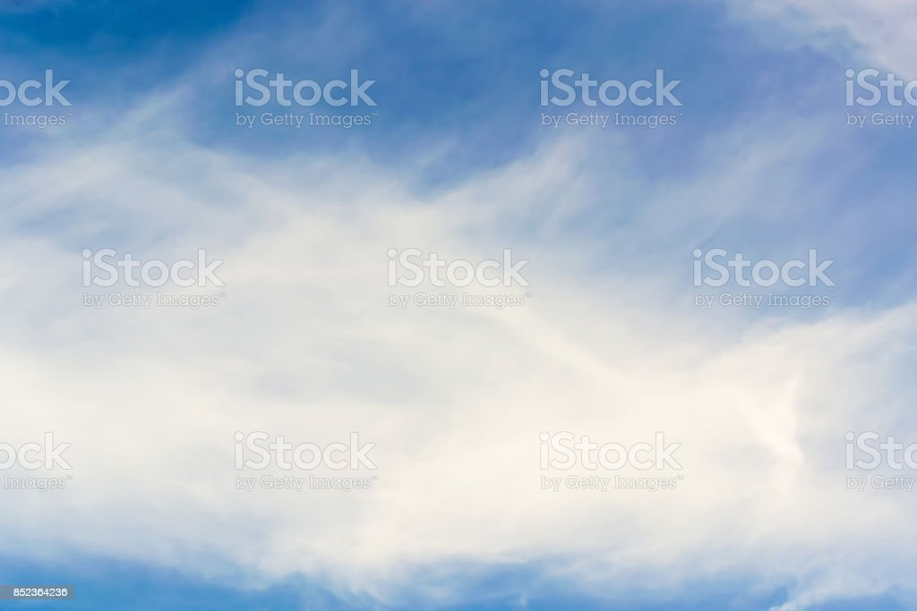 Cloud clear sky for background. stock photo