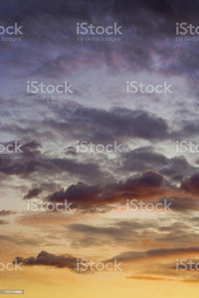 Cloud Colours stock photo