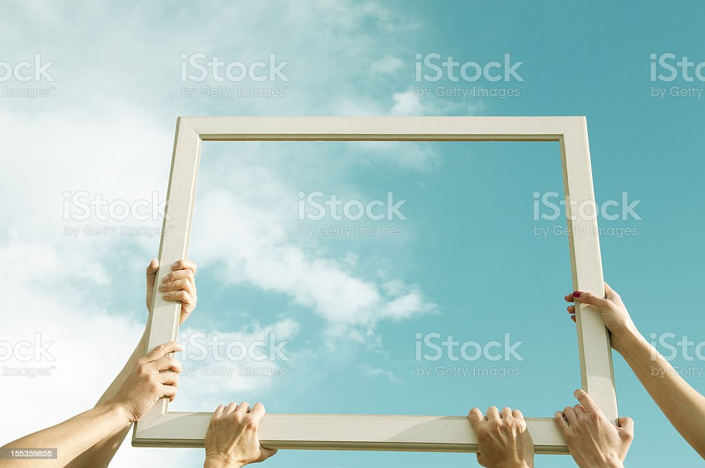 Cloud Computing Concept royalty-free stock photo