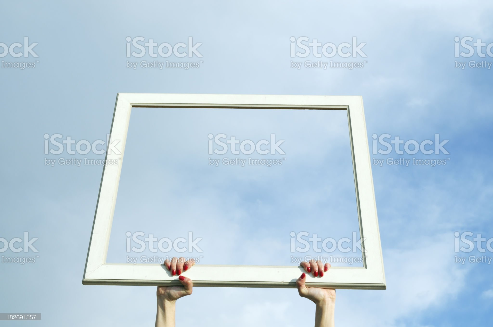 Cloud Computing Concept.Copy space royalty-free stock photo