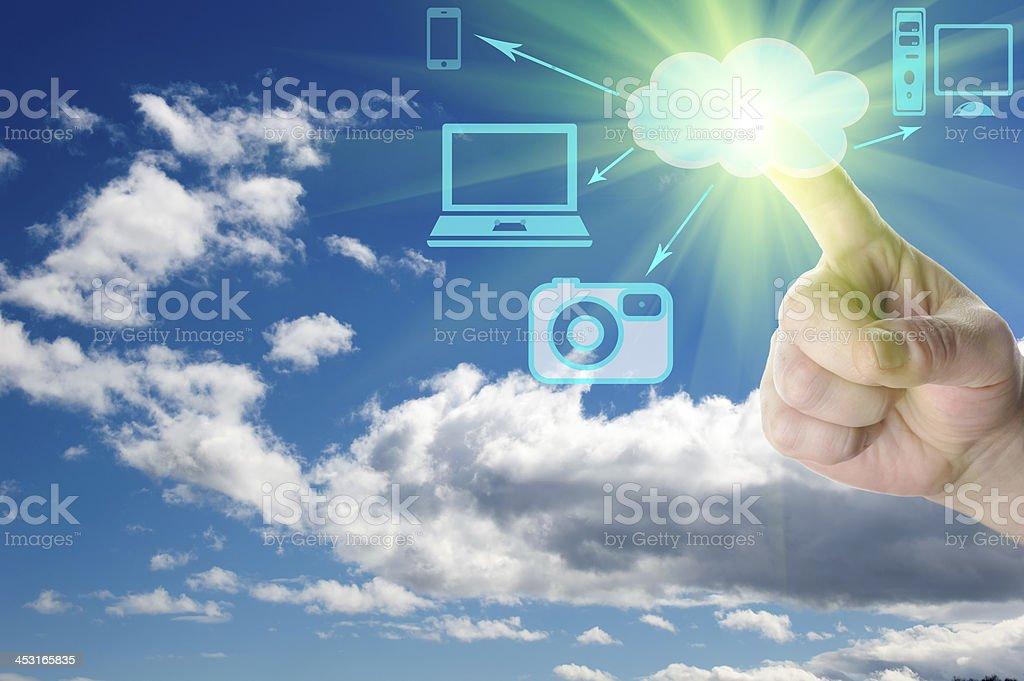 Cloud Computing Concepts stock photo