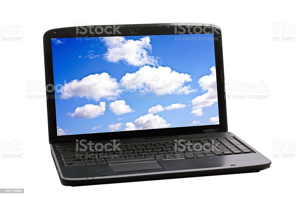 Cloud Computing Technology Concept royalty-free stock photo