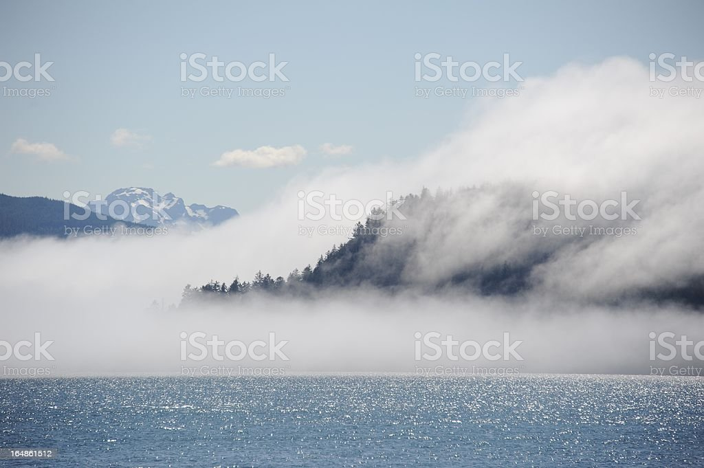Cloud cover royalty-free stock photo