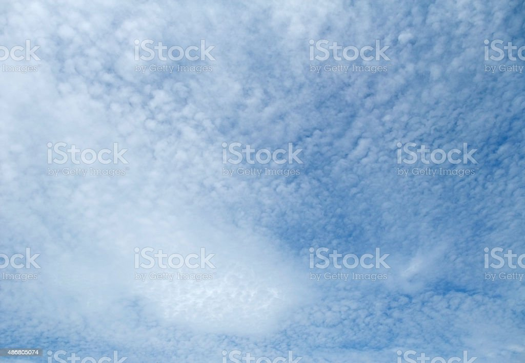 cloud cover stock photo