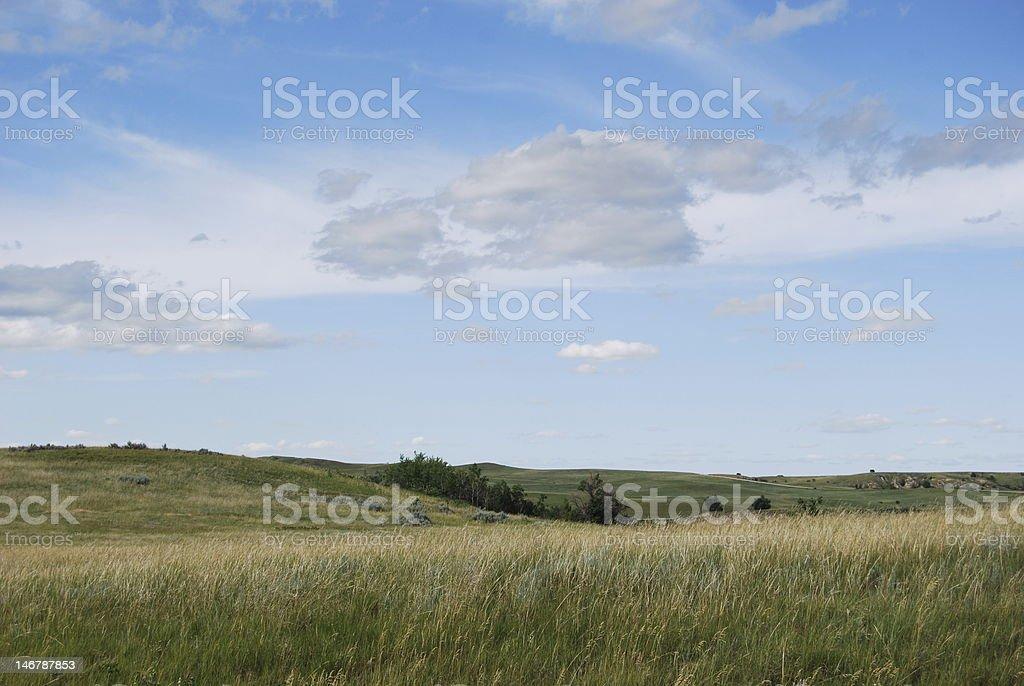 Cloud Formation, North Dakota royalty-free stock photo
