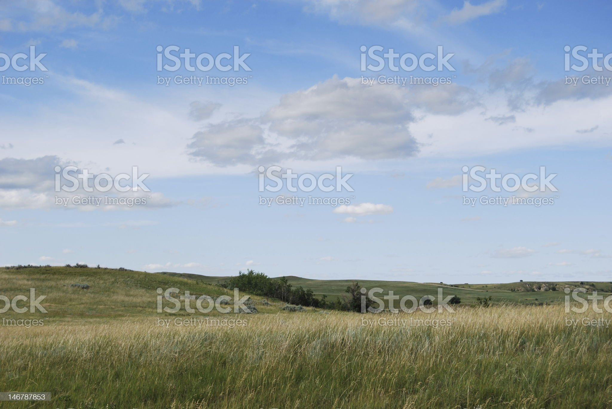 Cloud Formation, North Dakota royalty-free stock photo