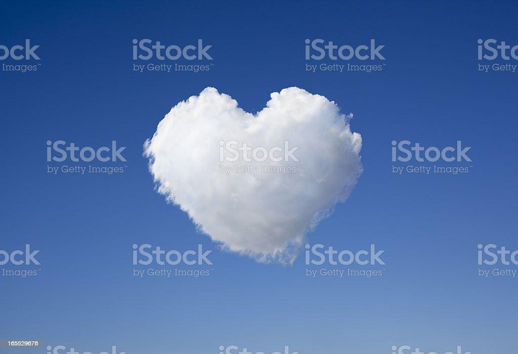 Cloud Heart royalty-free stock photo