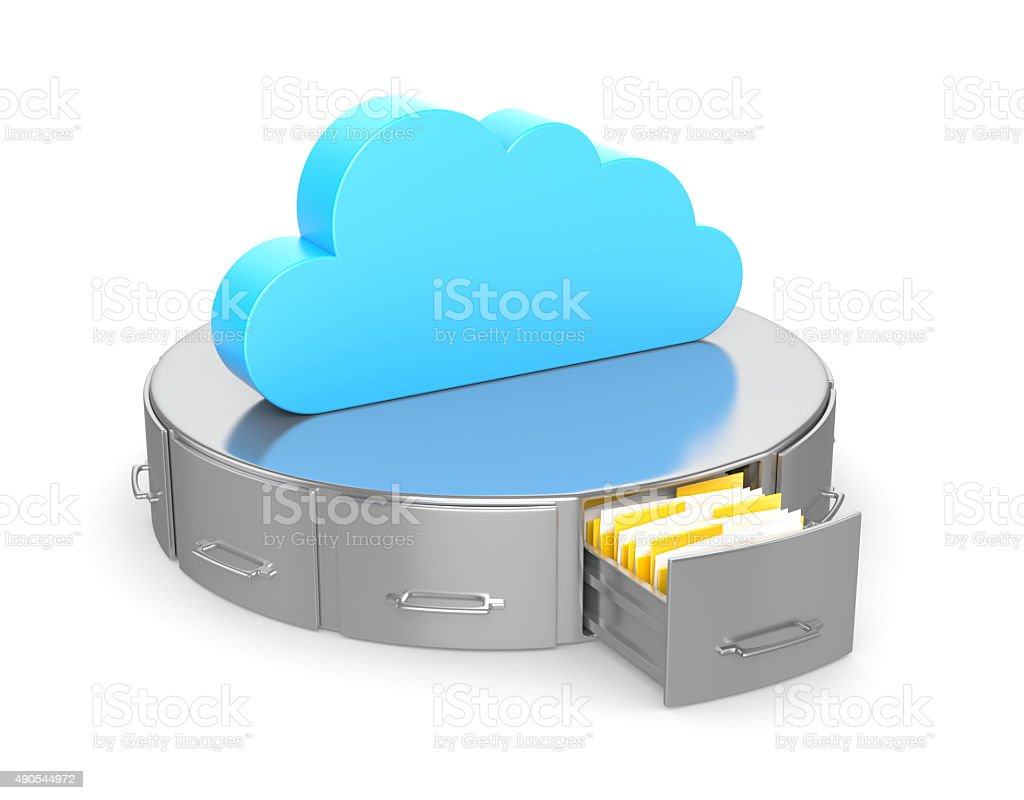 Cloud Hosting stock photo