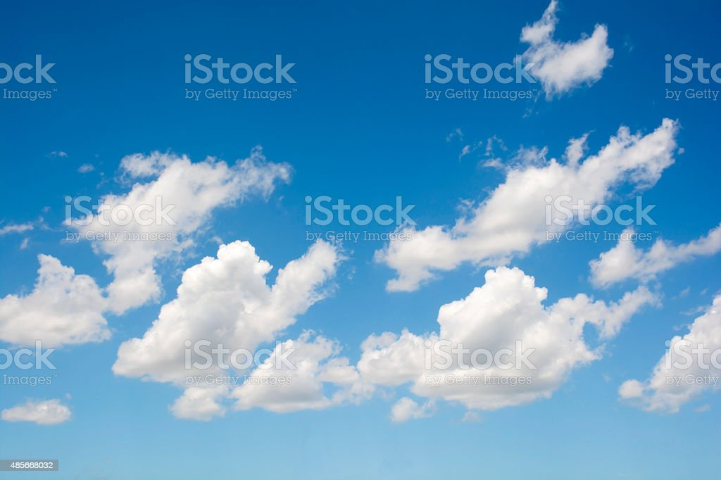 Cloud in blue sky background. royalty-free stock photo