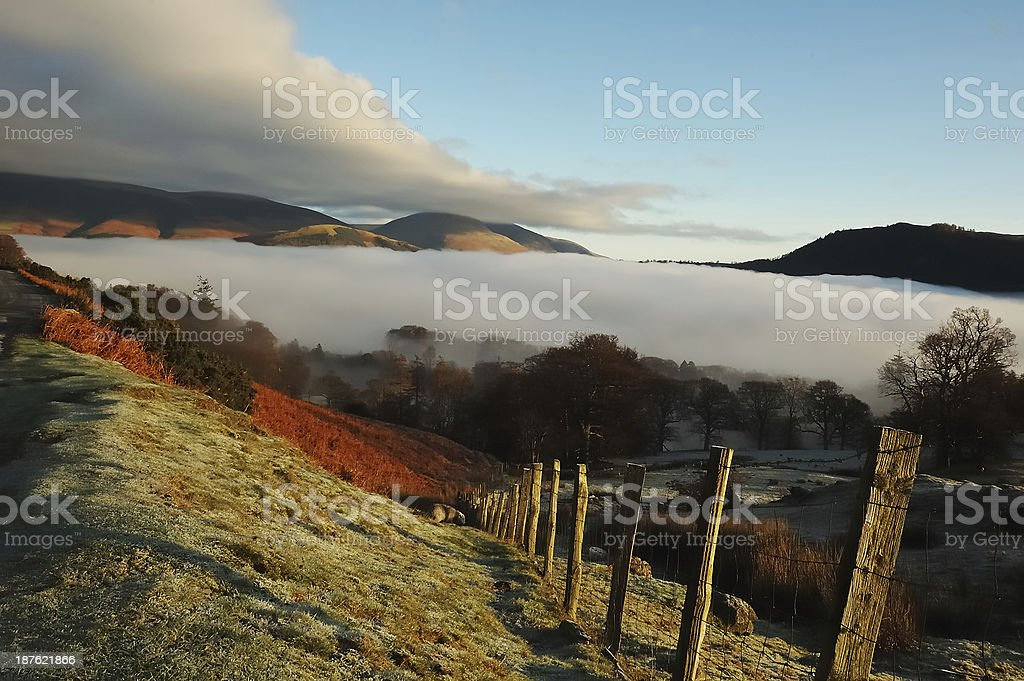 Cloud Inversion stock photo