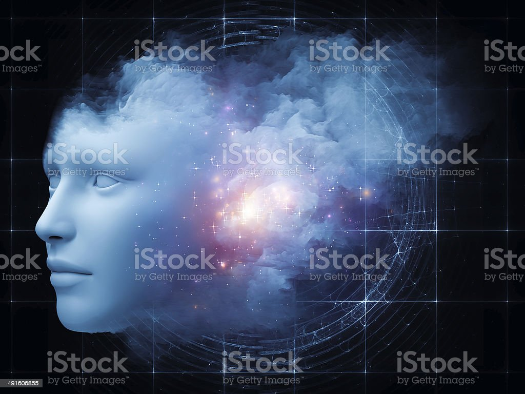 Cloud Mind stock photo