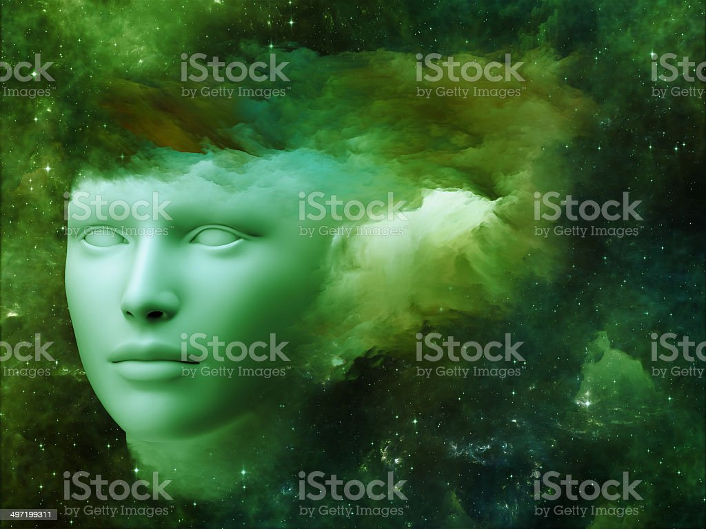 Cloud Mind royalty-free stock photo