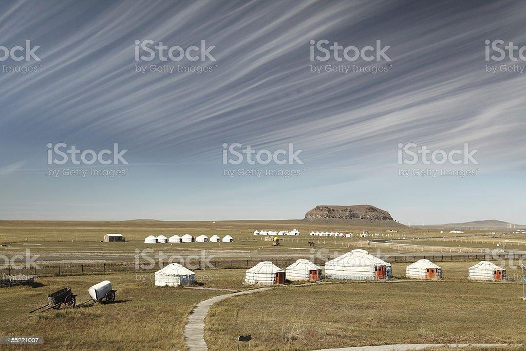 Cloud of Inner Mongolia stock photo