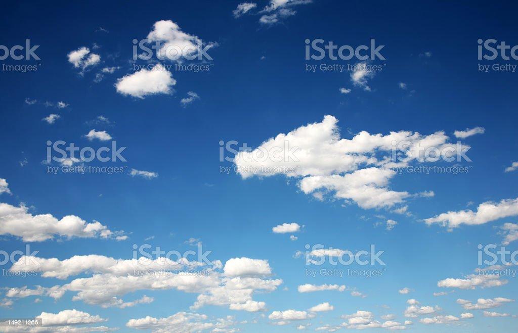 Wolke am blauen Himmel Lizenzfreies stock-foto