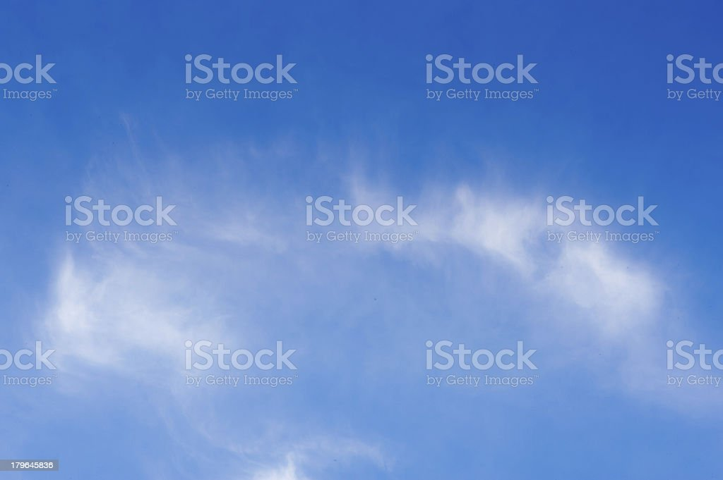 cloud on blue sky royalty-free stock photo