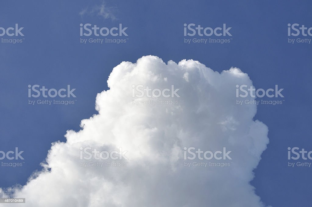 Cloud on blue sky. royalty-free stock photo