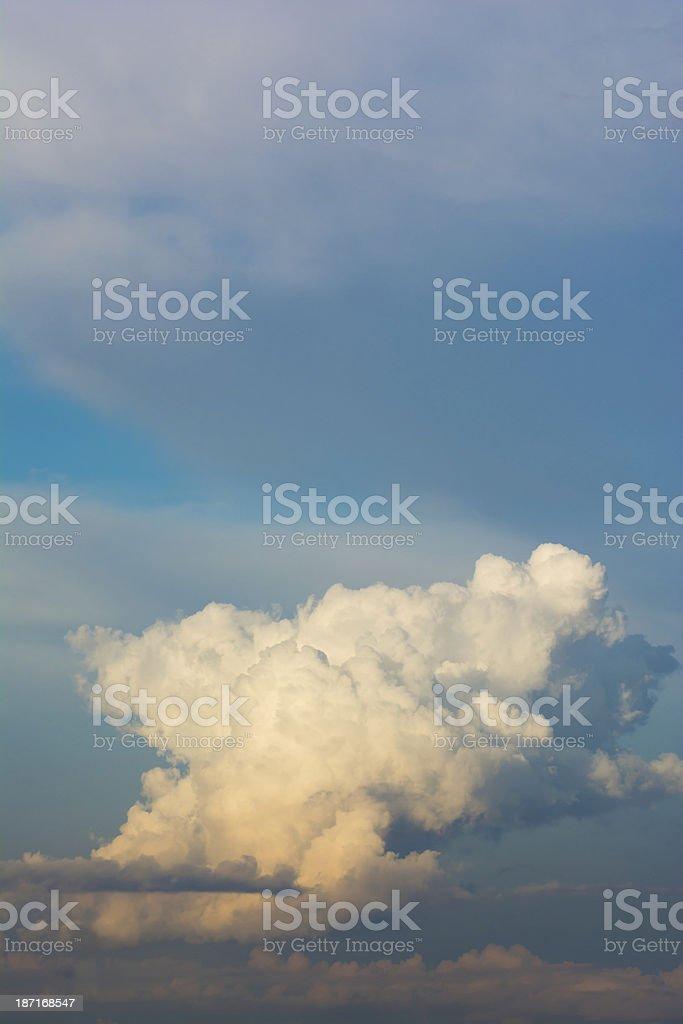 Cloud on Blue Sky - XXXL royalty-free stock photo
