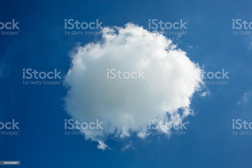cloud royalty-free stock photo