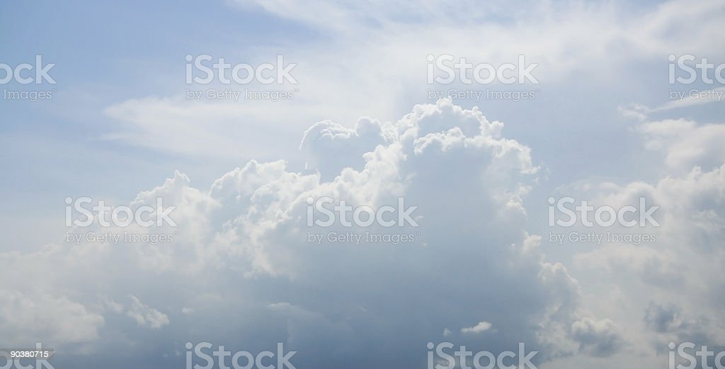 Nube foto de stock libre de derechos