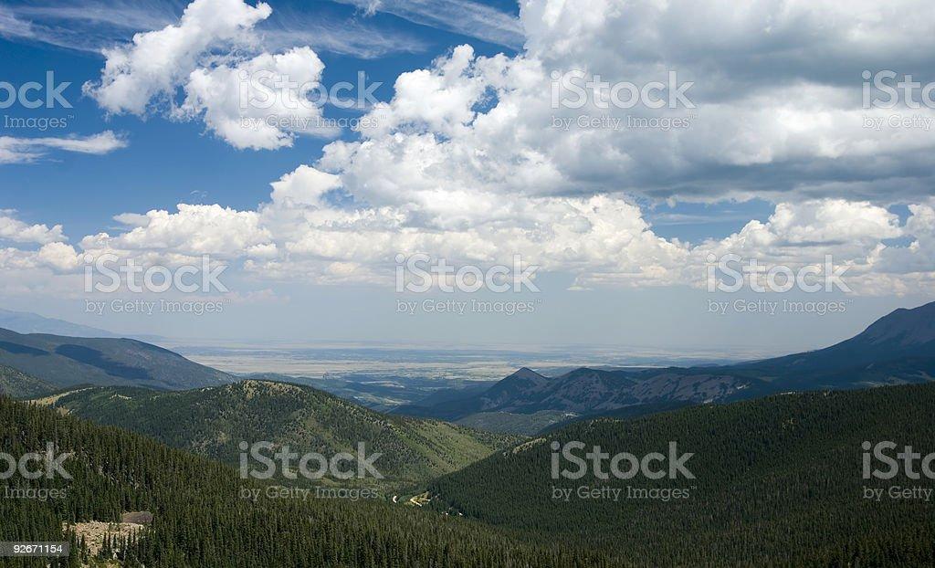 Cloud-Szene Lizenzfreies stock-foto