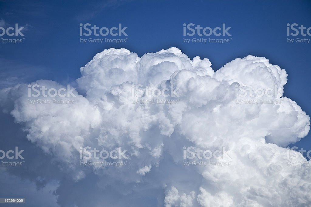 Cloud series XL royalty-free stock photo