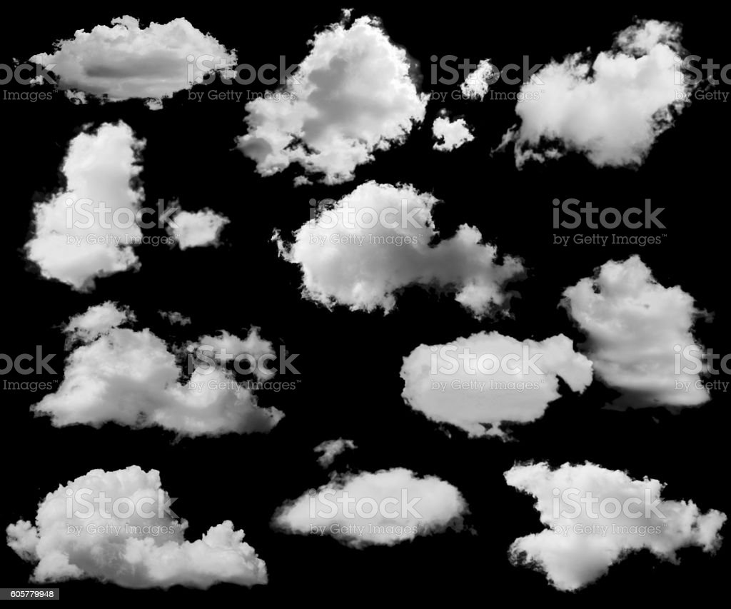 cloud service template stock photo