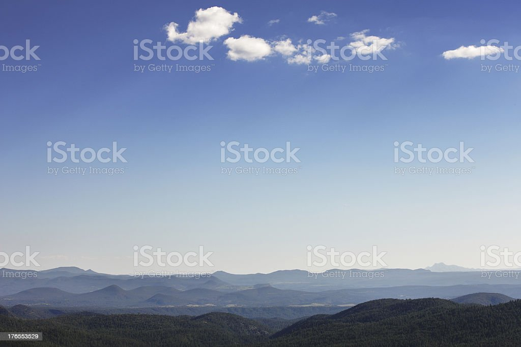 Cloud Shadow Rayleigh Scattering Sky Landscape royalty-free stock photo