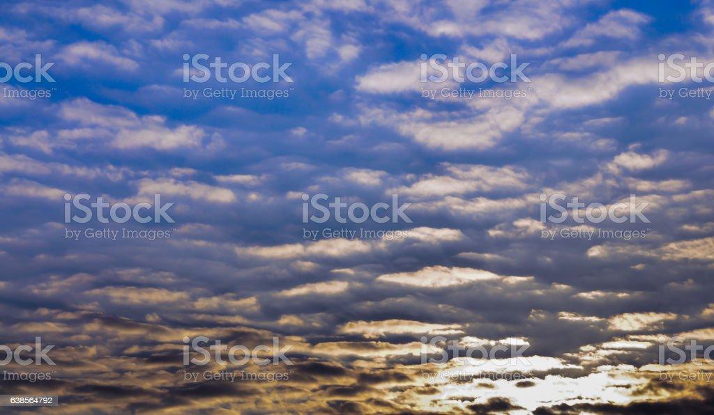 cloud sunset climate texture stock photo