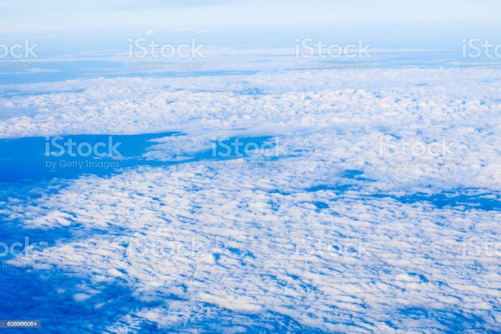 Cloud view stock photo