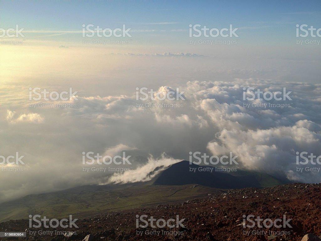 Cloud Waves stock photo