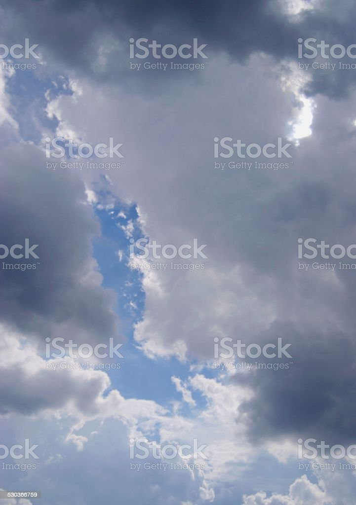 Clouded Afternoon royalty-free stock photo
