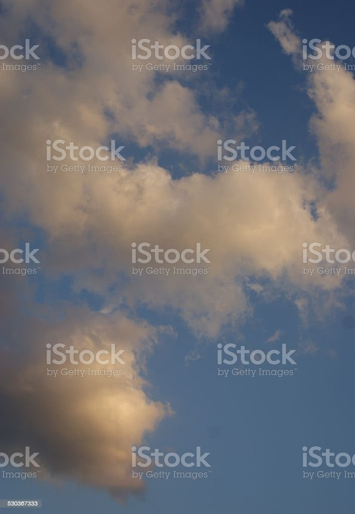 Clouded Balls royalty-free stock photo