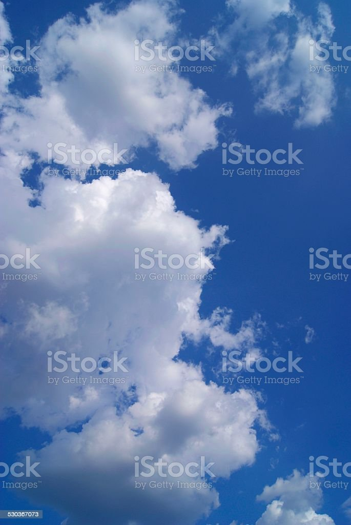 Clouded Tower royalty-free stock photo
